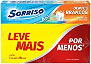 Creme Dental Sorriso Dentes Brancos 90G Promo Leve Mais Por Menos 6Un