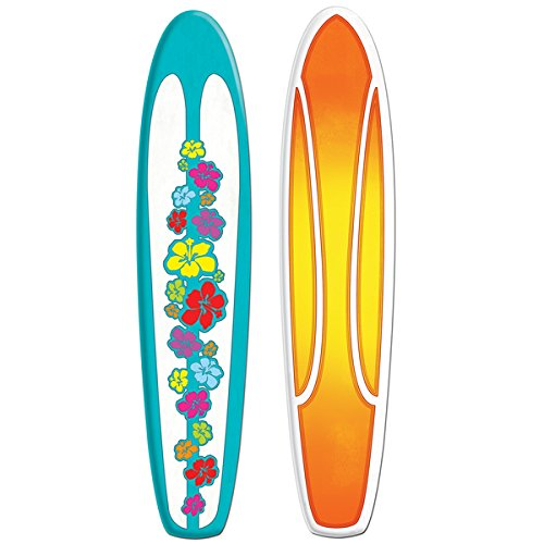Jointed Surfboard Party Accessory (1 count) (1/Pkg) -