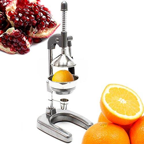 Exprimidor Naranjas Limones Granadas Frutas Zumo Palanca Manual Acero Inox Desmontable: Amazon.es: Jardín