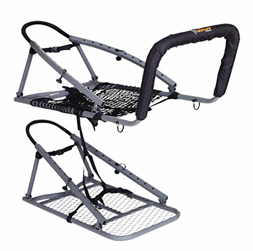 OL'MAN Multivision Treestand, for Gun & Bowhunters (Guide Gear Extreme Deluxe Hunting Climber Tree Stand)