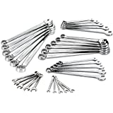 Craftsman 32-piece Inch and Metric Combination Wrench Set, Full Polish, 12 Point, 9-49828