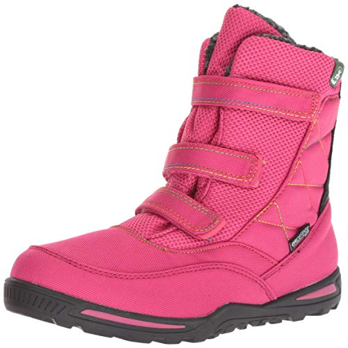 Kamik Girls' Hayden Snow Boot, Bright Rose, 12 Medium US Little Kid