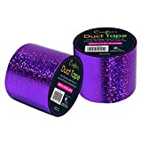 Time 4 Crafts, Crafters Duct Tape,Pack of 6, 1.9 Inches, Holographic Purple