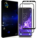 Beilm Screen Protector Compatible with Samsung Galaxy S9 Tempered Glass HD Clear [3D
