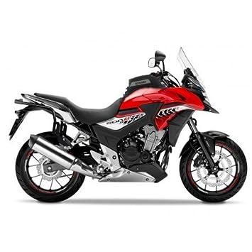 Honda CB 500 X-13/17- montaje de maletas Shad 3P SYSTEM sh23-h0cx57if: Amazon.es: Coche y moto