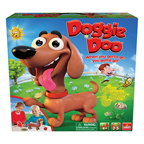 Goliath Games 30683 New & Improved Doggie Doo Game, Brown