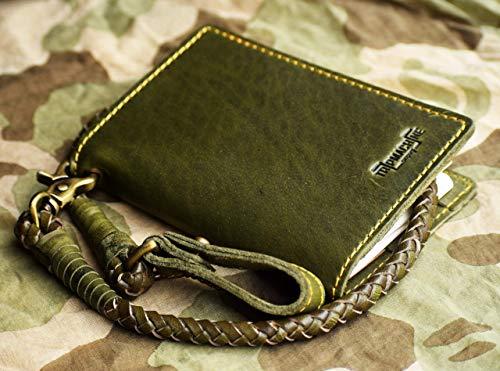 Trip Machine Compnay PASSPORT/FIELDNOTE/EXPLORER WALLET - ARMY GREEN