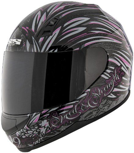 Speed and Strength SS700 Full Face Helmet - To The Nines - Womens Sizes - SS700-TOTHENINES 122689