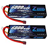 Best Rc Lipo Batteries - Zeee 6000mAh 80C 2S 7.4V Hardcase Lipo Battery Review