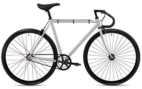 FUJI(フジ) FEATHER シングルスピード ピストバイク 19FETRSV52 MATTE SILVER 52cm   B07G2MFZ2C
