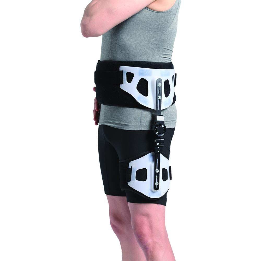 Orthomen ROM Post-op Hip Abduction Brace, for Hip Management/Immobilization by Orthomen