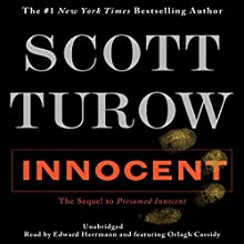 Innocent Audiobook by Scott Turow Narrated by Edward Herrmann, Orlagh Cassidy