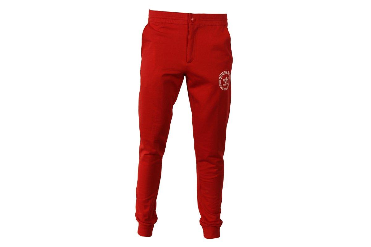 Adidas SY Superstar TP Pantalon de Chandal Rojo para Hombre ...