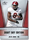 2011 Leaf NFL Draft Day Edition Football Card # 10 Julio Jones RC - Atlanta Falcons (RC - Rookie Card) NFL Rookie Trading Card