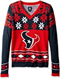 Houston Texans Womens Big Logo V-Neck Sweater Extra Large