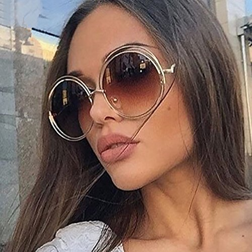 UV400 Forme de Ronde Quotidien Wicemoon Lunettes Soleil pour Eyewear Vacances pour Lunettes Soleil Femme de au nbsp;Protection Vintage AXnx5qPg