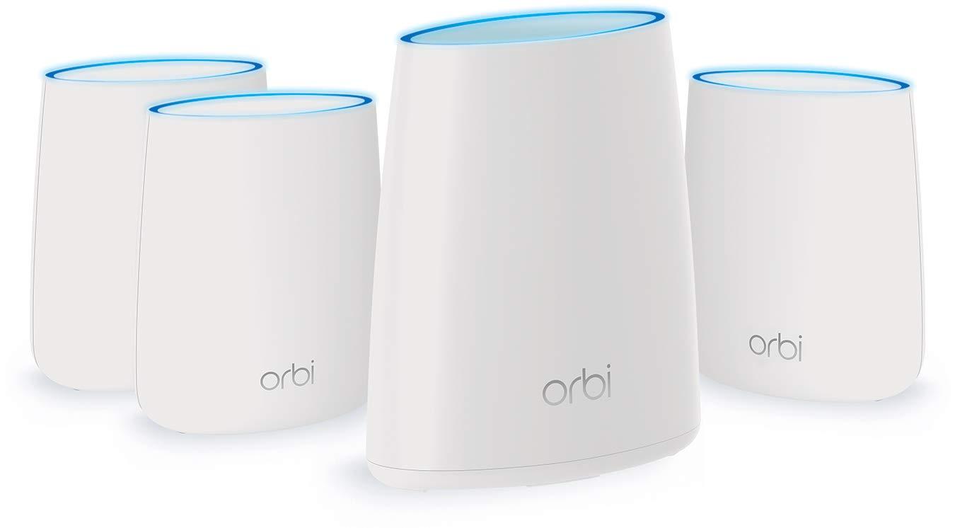 NETGEAR Orbi Home WiFi System. Up to 8,000 sq ft AC2200 (RBK44) by NETGEAR