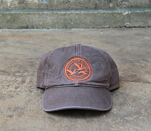 Southern Marsh Men's Thompson Twill Geese Hat, Stone Brown, One Size