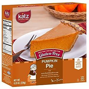 Katz, Gluten Free, Personal Size Pumpkin Pie, 8.25 Ounce, (1 Pack)