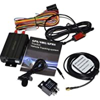 GenLed GPS GPRS SMS Real-time tracker TK103A Quad band SD card slot anti-theft move alarm by SMS