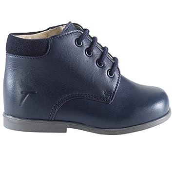 Tichoups Chaussures marche Botti marine 19
