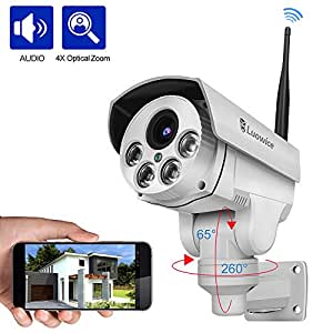 Amazon Com Luowice 1080p Wifi Security Camera Outdoor