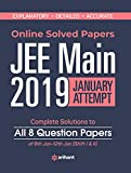Online JEE Main Solved Paper 2019 (January attempt)