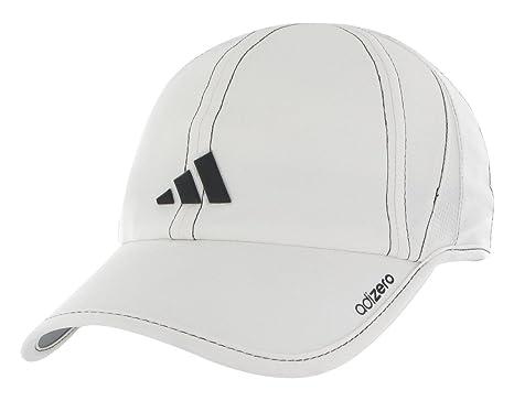 adidas Men s Adizero Stretch Cap (White Black cd3e4c463c6