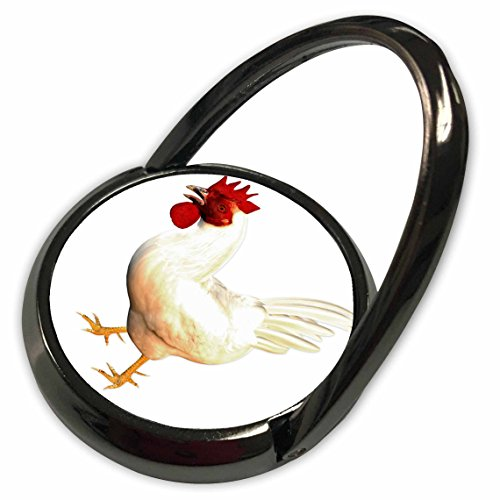 Leghorn Rooster (3dRose Boehm Graphics Birds - Leghorn Rooster - Phone Ring (phr_203130_1))