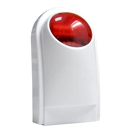 Sistema de Alarma GSM/SMS,ECTECH LCD Pantalla de Menú en Castellano Teclados Llamadas de 6 Teléfonos Diferentes Antirrobo Sistema de Seguridad para el ...