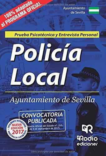 Download Policía Local. Ayuntamiento de Sevilla. Prueba Psicotécnica y Entrevista Personal (Spanish Edition) PDF
