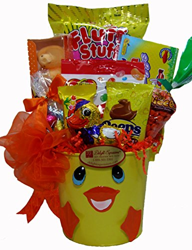 Delight Expressions@ Easter Ducky Gift Pail - A Holiday Easter Gift Basket for Kids