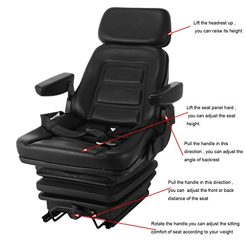 vevor-suspension-seat-adjustable-backrest-headrest-and-slide-rails-mechanical-suspension-seat-foldable-heavy-duty-for-tractor-forklift-excavator
