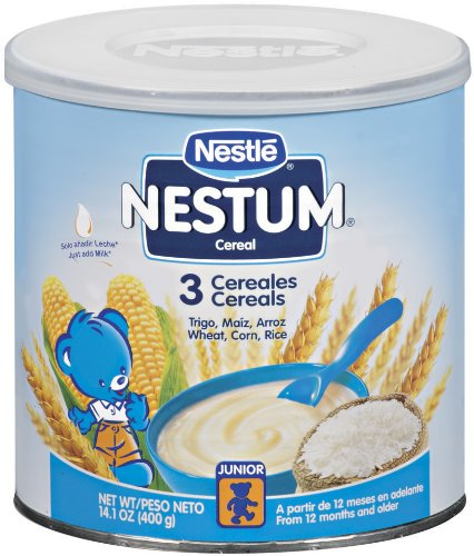 Nestum 3 Cereals, 14.1-Ounce (Pack of 3)