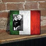 Italian Flag Picture Frame %2D Holds 4%2
