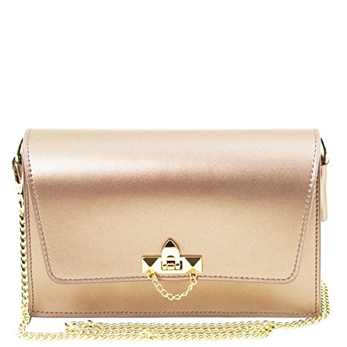 Tuscany Bag Noche Bolso De En Bandolera Cadena Leather Et Piel Gold Metallic Tl 4qxwC4IEr
