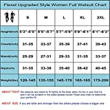 Flexel Wetsuit Women and Men, 3mm Full Scuba Diving