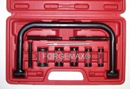 FORGEMAX Valve Spring Compressor C Clamp Service Kit Auto Motorcycle ATV Small Engine