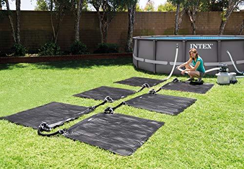 51lUn%2Bfg eL Alfombra calentador solar para piscinas hinchables y desmontables AGP Con forma cuadrada, las medidas de la alfombra solar son 120x120 cm (antes de que se llene de agua) La alfombra calentador está indicada para piscinas AGP de hasta 30280 litros de capacidad de agua