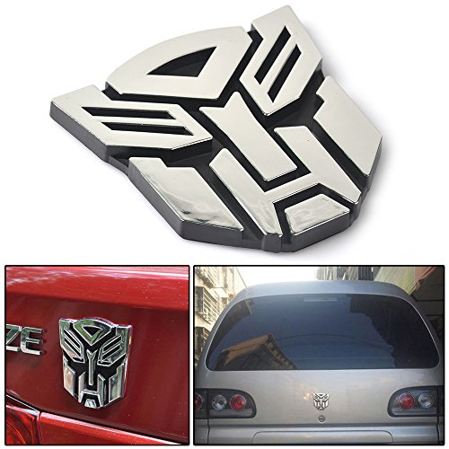 Hot Energy 3D Logo Protector Autobot Transformers Emblem Badge Graphics Decal Car Sticker (Autobot) -