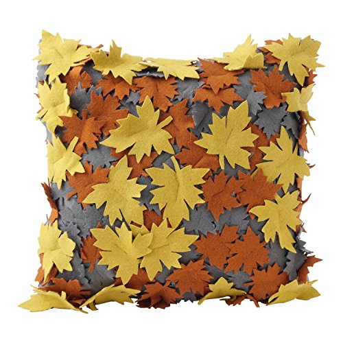 hallmark-home-decorative-throw-pillow-with-insert-16x16-gray-with-gold-and-burnt-orange-laser-cut-le