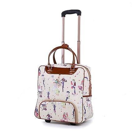 3cb5b1173b19 Amazon.com: Minmin-lgx Design Pattern Carry On Bag Wheeled Cabin ...