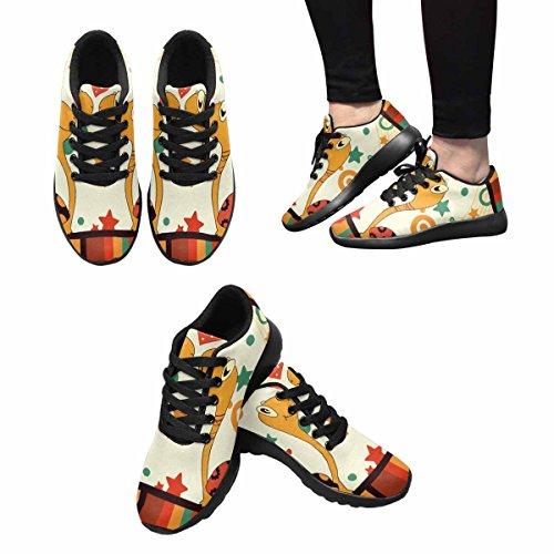 Interestprint Femmes Doux Sport Route Courir Chaussures De Marche Amour Romantique Tortue Multi 1