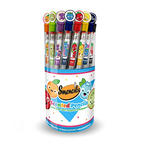 Scentco Graphite Smencils Cylinder of 50 HB #2 Scented Pencils]()