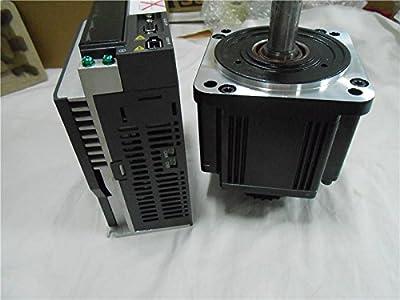 GOWE 2KW AC Servo Motor Drive kits System 400V 9.55NM 180mm with Brake 3M Cable ECMA-K11820SS+ASD-A2-2043-M