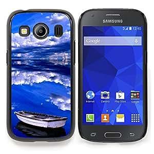Stuss Case / Funda Carcasa protectora - Nubes Mar Verano Tormenta Azul - Samsung Galaxy Ace Style LTE/ G357