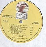 Chris Spedding: Friday The 13th LP VG++/NM USA Passport PB 6007 Small sawcut