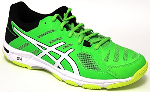 Asics Scarpe Volley Uomo - Gel Beyond 5 - B601N-8501 - Green Gecko/White/Safety Yellow-42