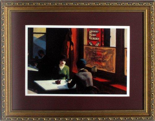Edward Hopper Chop Suey Custom Framed Art Print High Quality Display