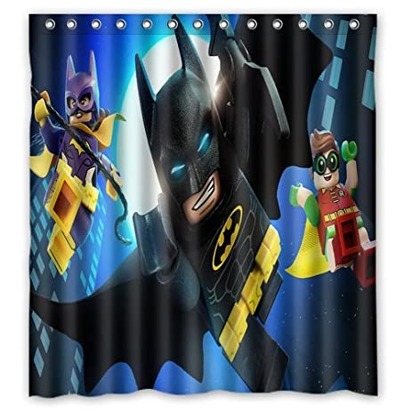 Amazon.com: ScottShop Custom Lego Batman Superheroes Shower Curtain ...